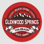 Pegatina del color de Glenwood Springs
