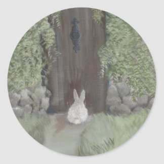 Pegatina del conejito