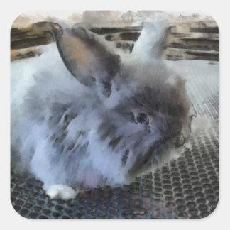 Pegatina del conejo