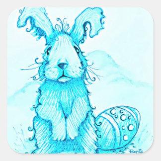 Pegatina del conejo de conejito