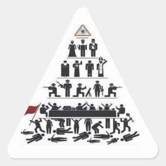 Pegatina del control de Illuminati