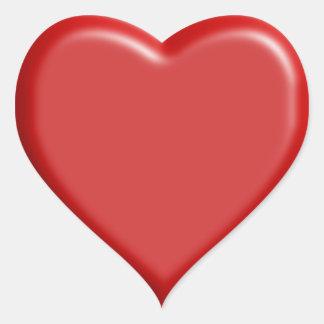 Pegatina del corazón