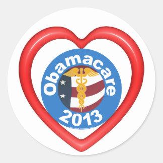 Pegatina del corazón de Obamacare