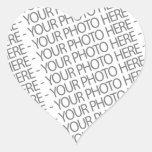 Pegatina del corazón, su foto aquí
