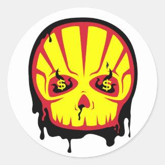 Pegatina del corpocracy de Shell