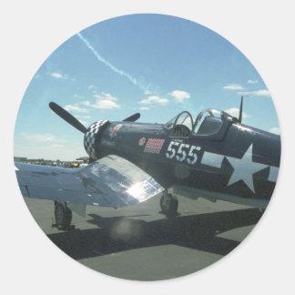 Pegatina del corsario F4U-1