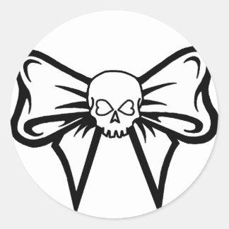 Pegatina del Cráneo-N-Arco