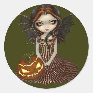 """""""Pegatina del crepúsculo de Halloween"""""""