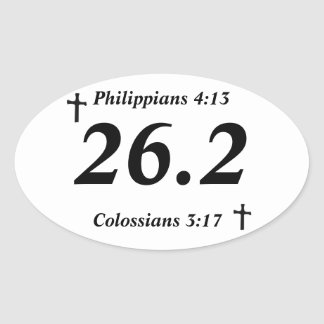 Pegatina del cristiano 26,2