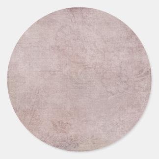Pegatina del cuarzo color de rosa