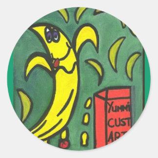 pegatina del cust-arte del yummi