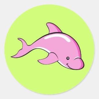 Pegatina del delfín