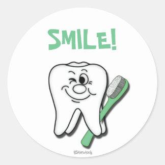 Pegatina del dentista