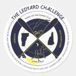 Pegatina del desafío de Ledyard