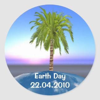Pegatina del Día de la Tierra