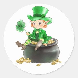 Pegatina del día de St Patrick