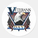 Pegatina del día de veteranos