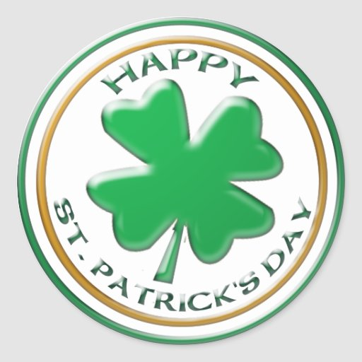 Pegatina del día del St Patricks