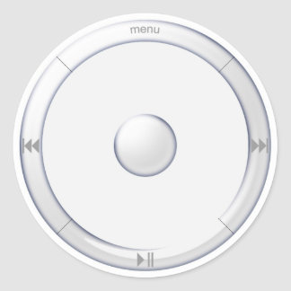 pegatina del dial de iPod