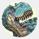 Pegatina del dinosaurio