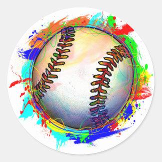 Pegatina del diseño 2 del béisbol