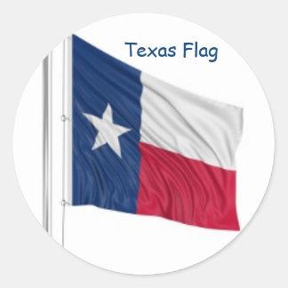 Pegatina del diseño de la bandera del estado de