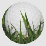 Pegatina del diseño de la pelota de golf