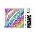 Pegatina del diseño del color del arco iris de la