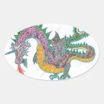 Pegatina del dragón