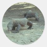 Pegatina del dragón de Komodo
