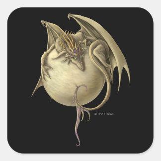 Pegatina del dragón de Venus