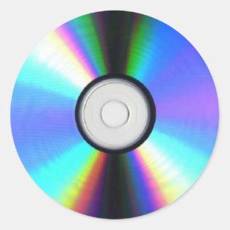 Pegatina del DVD