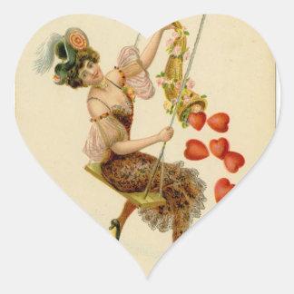 Pegatina del el día de San Valentín