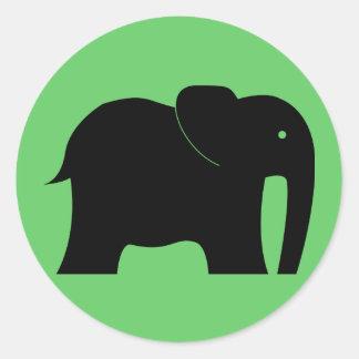 Pegatina del elefante