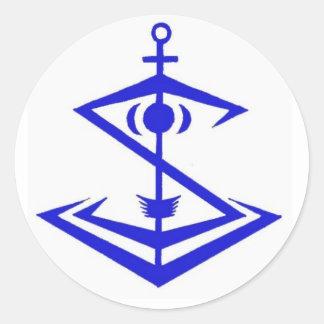 Pegatina del emblema de Snipentology