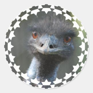 Pegatina del Emu