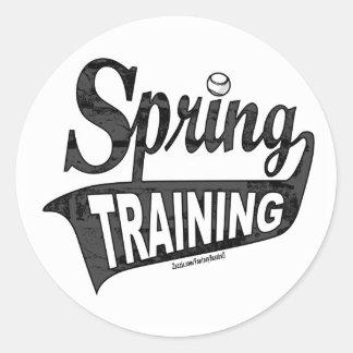 Pegatina del entreno primaveral