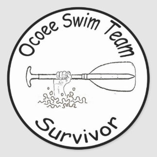 Pegatina del equipo de natación de Ocoee