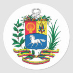 Pegatina del escudo de armas