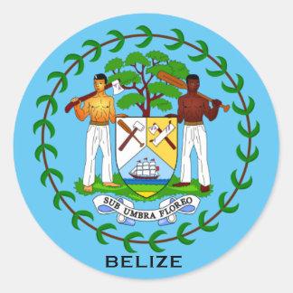 Pegatina del escudo de armas de Belice
