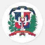 Pegatina del escudo de armas de la República