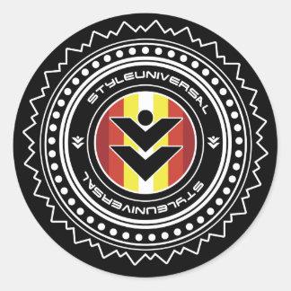 Pegatina del escudo de la marca de Styleuniversal