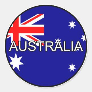 Pegatina del euro de Australia