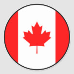 Pegatina del euro de Canadá