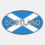 Pegatina del euro de Escocia