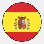 Pegatina del euro de España