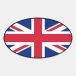 Pegatina del euro de Gran Bretaña