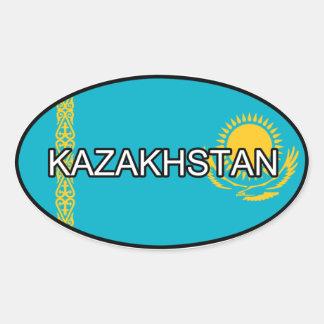 Pegatina del euro de Kazajistán