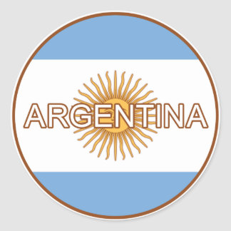 Pegatina del euro de la Argentina