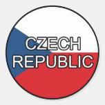 Pegatina del euro de la República Checa